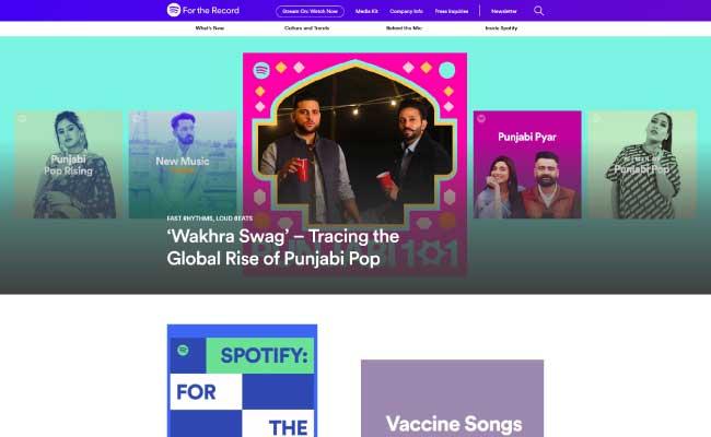 Spotify Newsroom