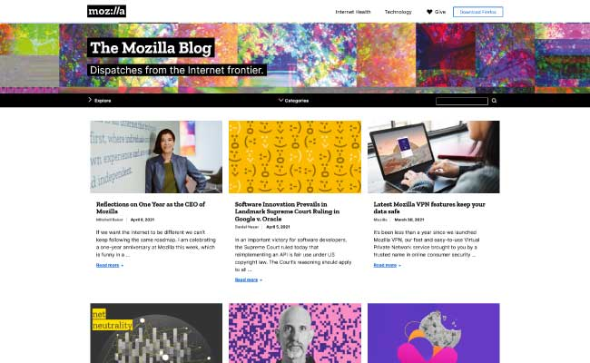 The Official Mozilla Blog