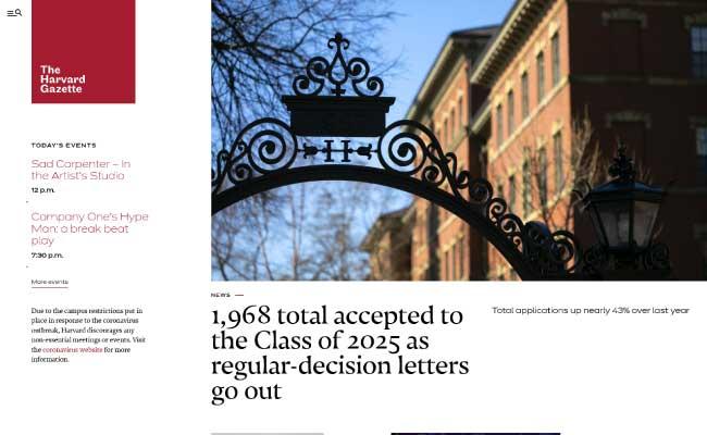 The Harvard Gazette