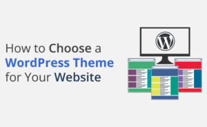How to choose a WordPress theme for your website